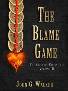 The Cover of The Blame Game.